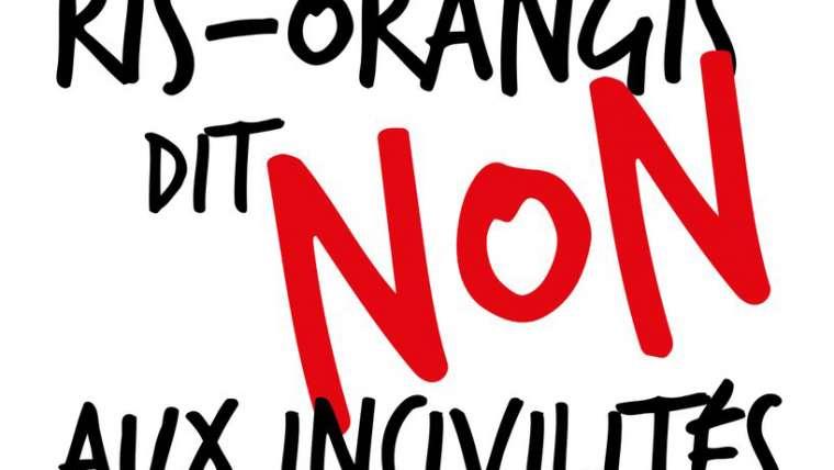 Ris-Orangis dit « Non aux Incivilités »