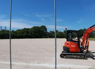Lancement de la rénovation du stade Emile-Gagneux pour la rentrée