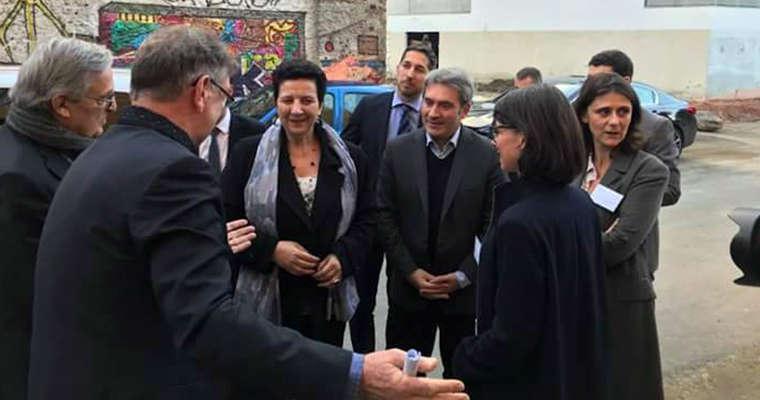 Visite de Frédérique Vidal, Ministre de l'Enseignement supérieur, de la Recherche et de l'Innovation