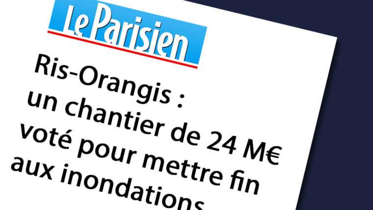 Ris-Orangis – Un chantier de 24 Millions d'euros