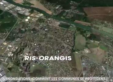 Reportage TF1 à Ris-Orangis: Comment les communes se protègent-elles contre les inondations ?