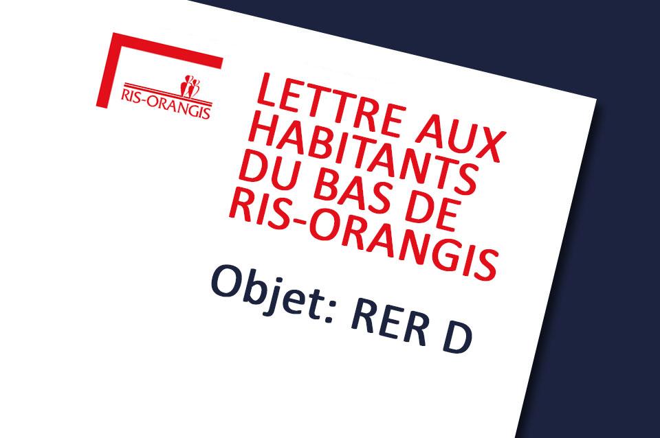 RER D: Vos élus se mobilisent!