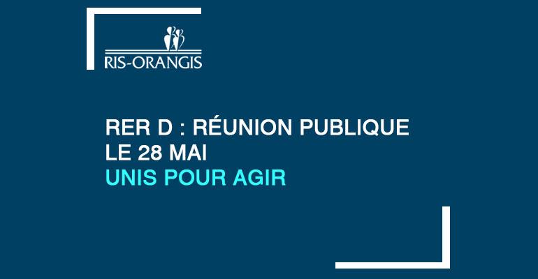 RER D : Réunion Publique le 28 Mai