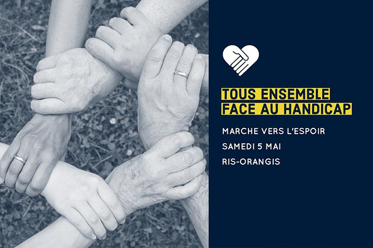 Inauguration de la 7ème Journée du Handicap à Ris-Orangis le 5 Mai