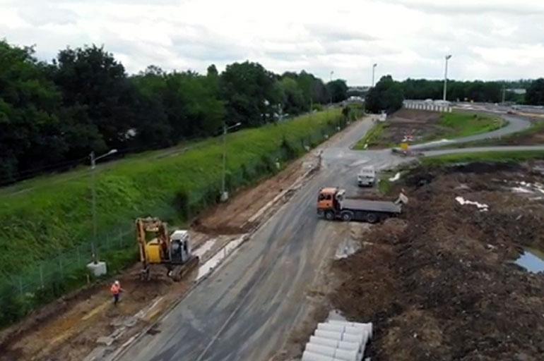 [Vidéo] Avancée des travaux du tram 12 express Evry-Ris-Orangis-Massy