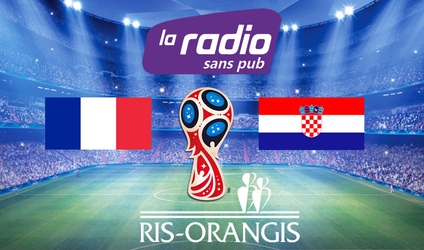 Finale France – Croatie: Intervention de Stéphane Raffalli sur Radio Sans Pub