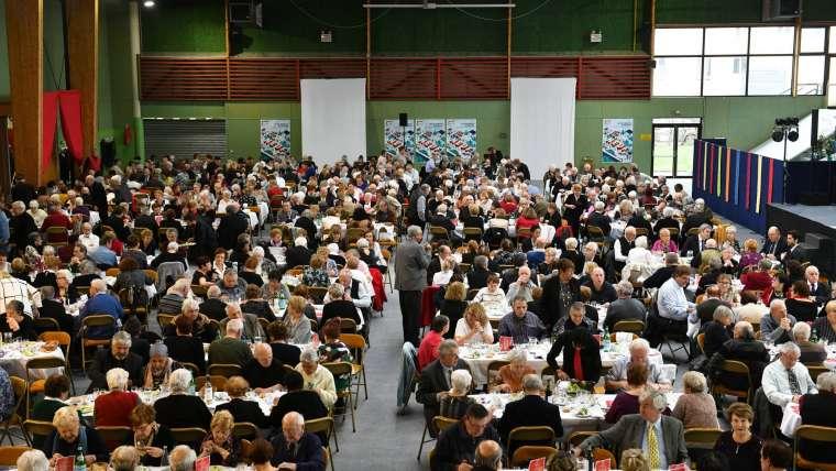 Ris-Orangis : Cérémonie des voeux aux Rissois.es et banquet des retraités
