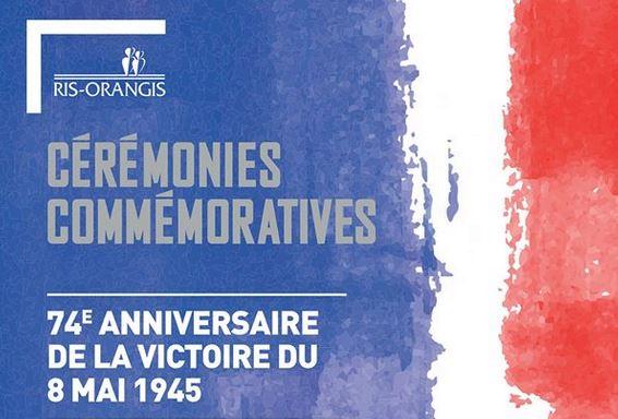 Commémoration de la victoire du 8 Mai 1945 et de l'Abolition de l'esclavage à Ris-Orangis