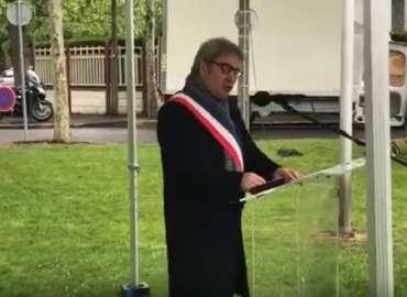 Intervention de Stéphane Raffalli lors de la Cérémonie de Commémoration du 8 mai 1945