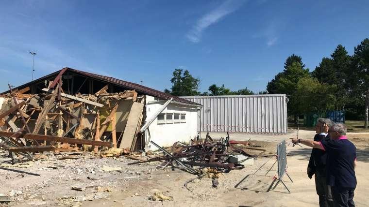 Ris-Orangis : restructuration complète du Stade Emile Gagneux