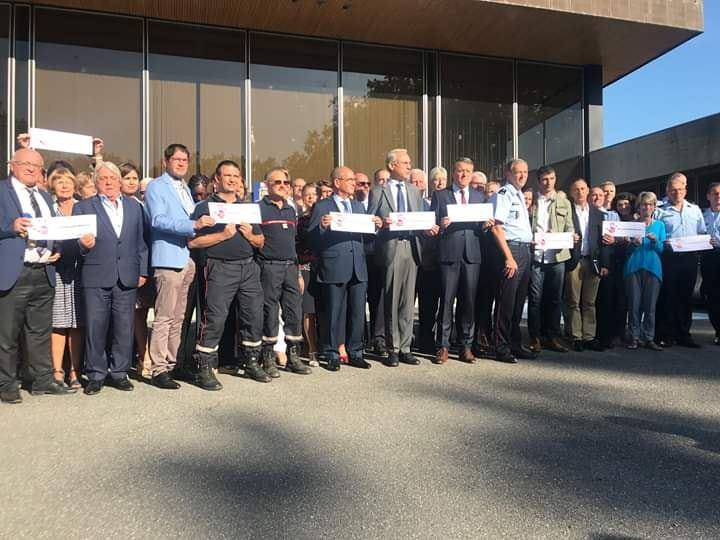 Indignation collective face aux attaques visant les sapeurs-pompiers