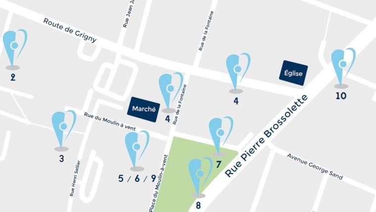 Coeur de ville de Ris-Orangis : les 10 projets qui vont améliorer le quotidien des Rissois.es