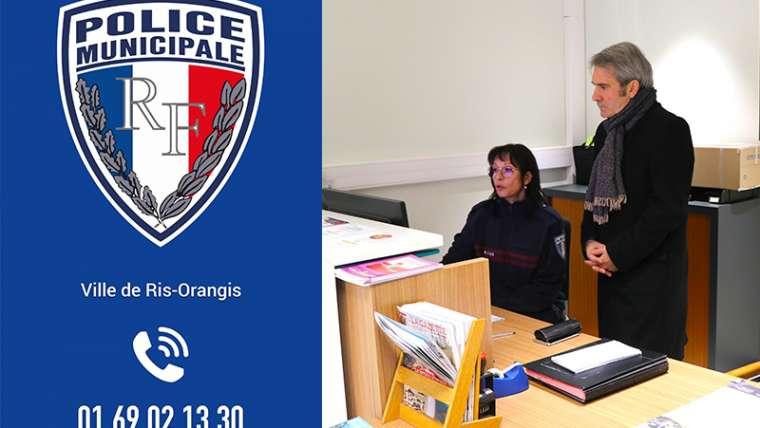 Ris-Orangis : Nouveau service pour faciliter le dépôt de plainte au sein de notre Police Municipale