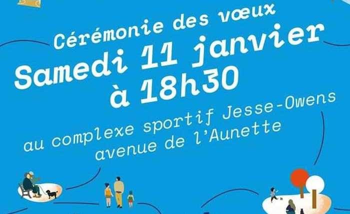 Ris-Orangis : Invitation à la Cérémonie des Voeux 2020 samedi 11 Janvier