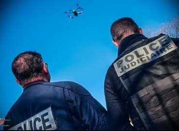 Covid-19 : Un drone en renfort du dispositif de sécurité et de protection des Rissois.es