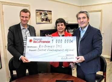 Signature du Contrat d'Amémagement Régional : un million d'euros pour rénover notre rue du Temple et notre rue Robida