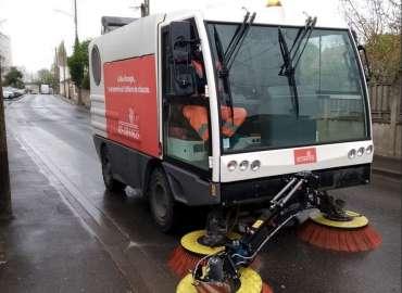 Covid-19 :  Notre brigade de propreté mobilisée sur nos espaces publics a Ris-Orangis