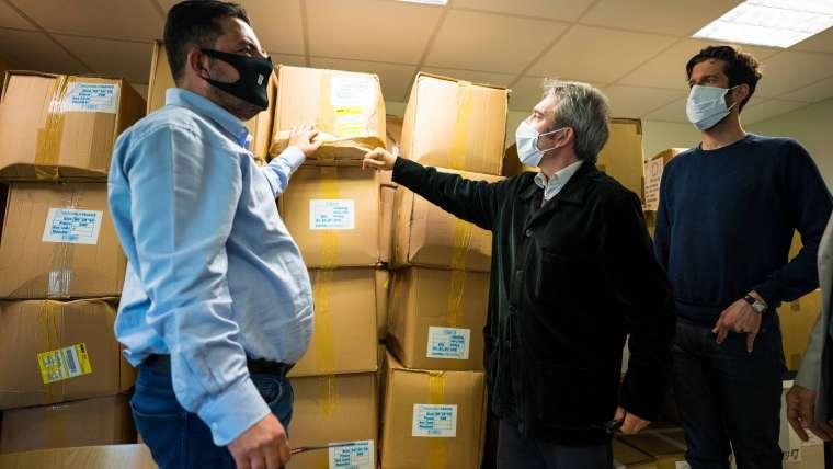 Covid-19 : 30 000 masques supplémentaires pour protéger les Rissois.es