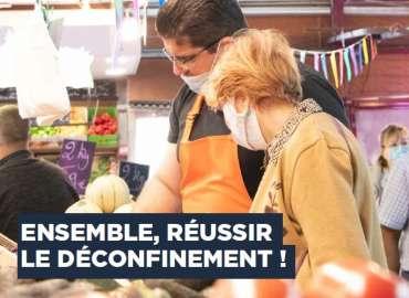 Ensemble, réussir le déconfinement – Édito de Stéphane Raffalli paru dans la Gazette de Ris-Orangis – Juin 2020