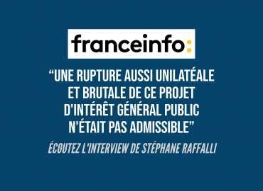 """Interview de Stéphane Raffalli sur la condamnation de la FFR pour avoir abandonné unilatéralement le projet du """"Grand Stade de Rugby"""" en 2016."""