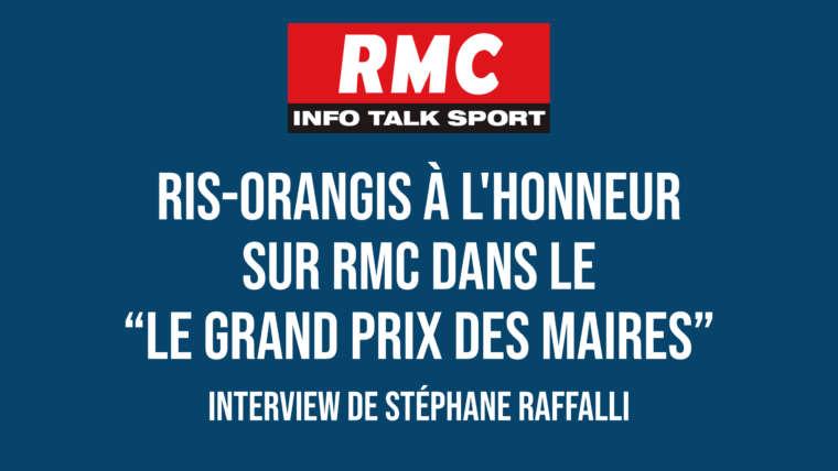 Ris-Orangis à l'honneur dans le Grand Prix des Maires sur RMC