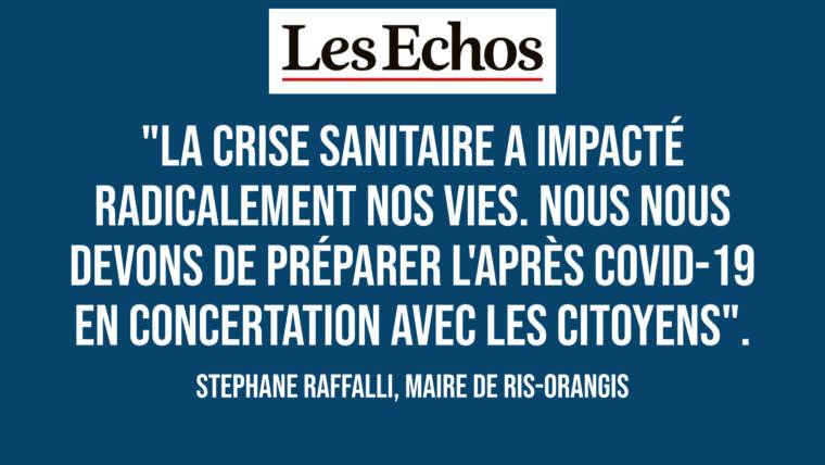 Les Echos : Ris-Orangis lance les états généraux de la démocratie participative