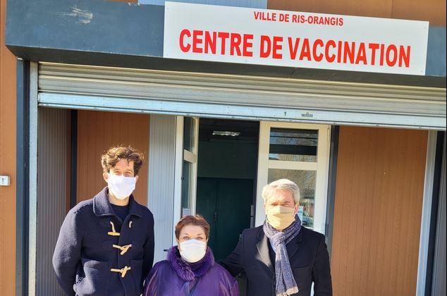 Ris-Orangis : Notre centre de vaccination COVID-19 est ouvert
