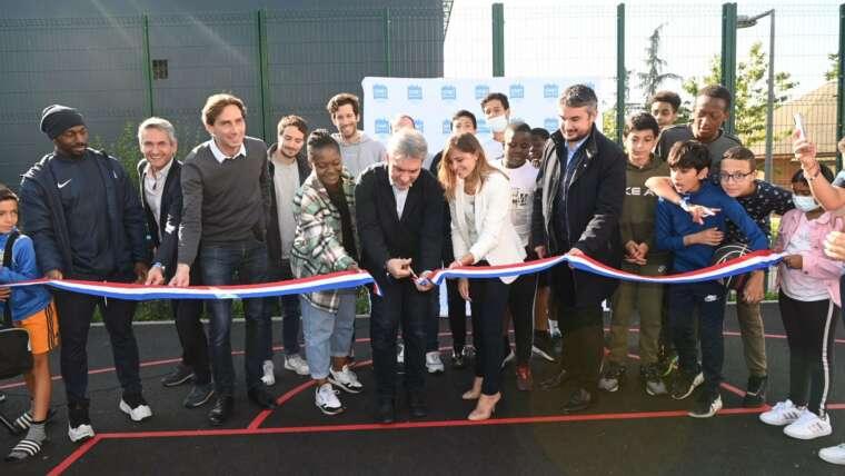 Ris-Orangis : Inauguration du nouveau plateau sportif du Moulin à Vent